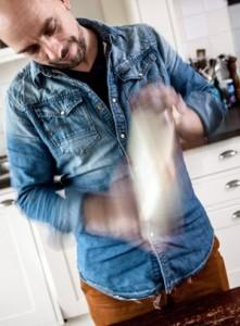 Christian Weij maakt boter