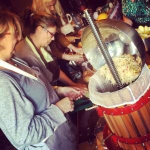 Cider maken in Ormoy
