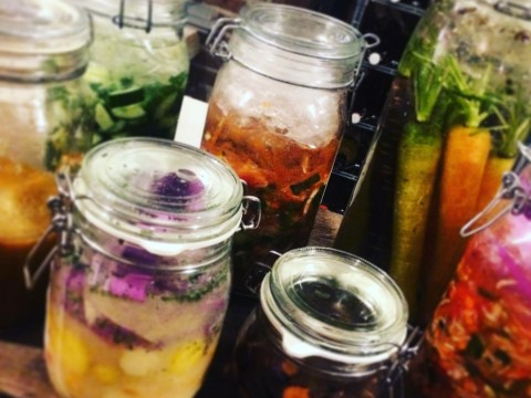 pickles in potten fermenteren